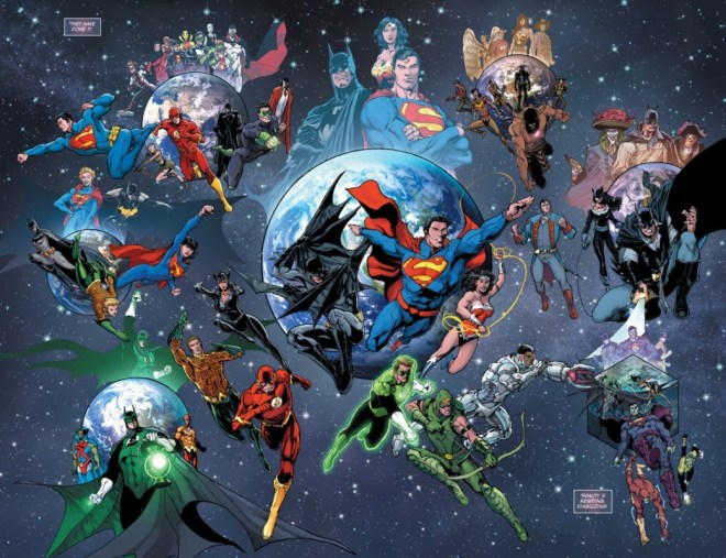 """A panel from """"Convergence Issue 4"""" 