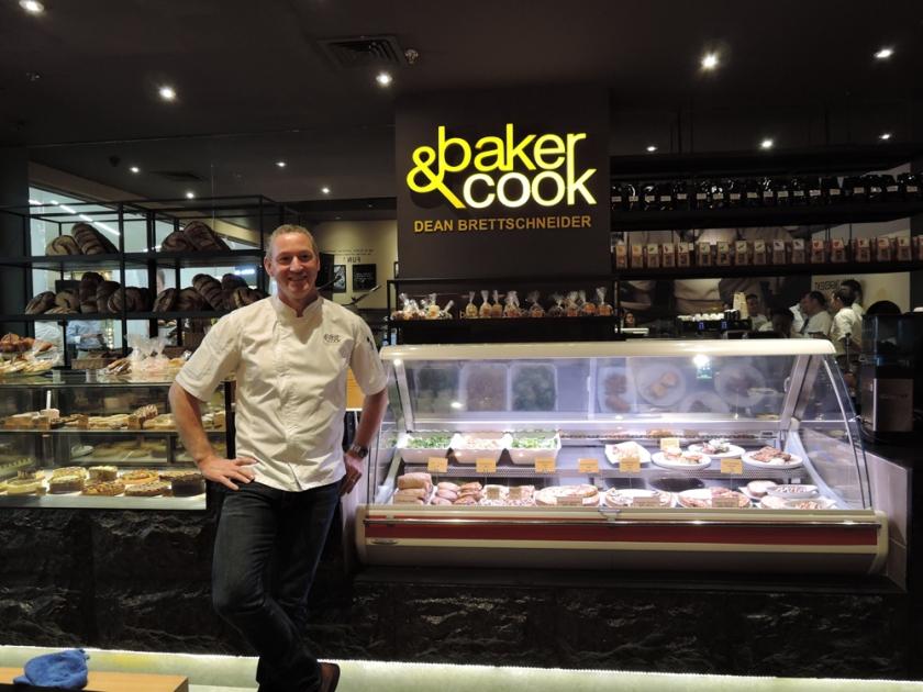 """Baker & Cook owner, """"Baker Boy"""" Dean Brettschneider at S Maison, Conrad Manila"""