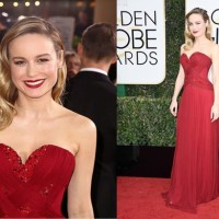 How to get Brie Larson's classic Golden Globes look