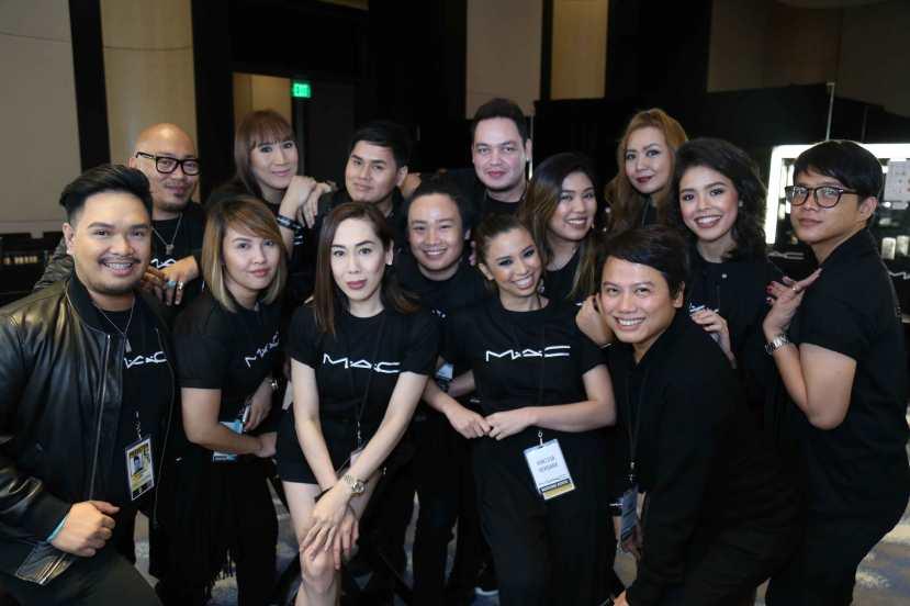 The MAC Miss Universe 2017 team