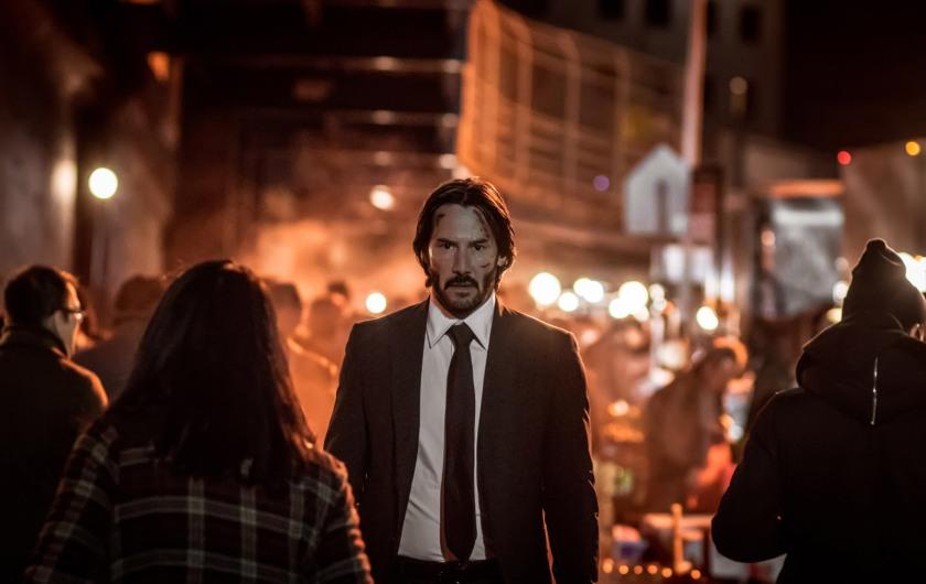 Keanu Reeves stars as 'John Wick' in JOHN WICK: CHAPTER 2.