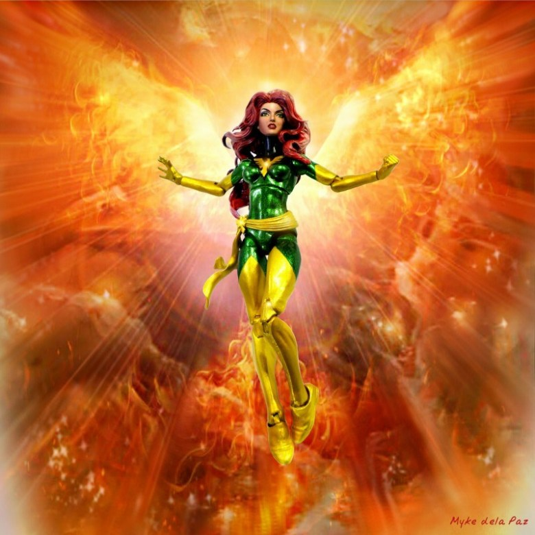 Myke dela Paz's take on the psychic mutant Jean Grey | PHOTO by MYKE DELA PAZ