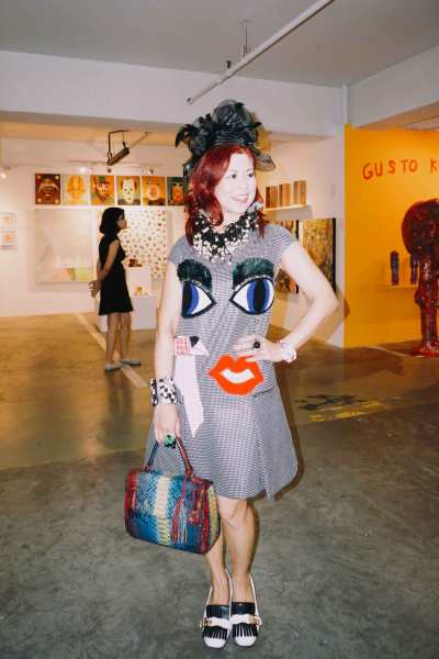 Mother of quirky dressing Tessa Prieto-Valdez gets into the mod mood.