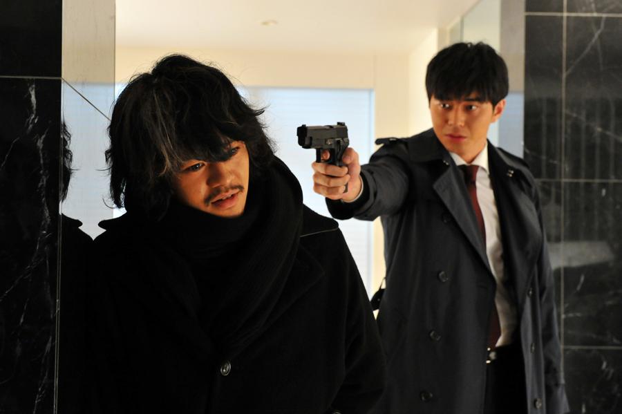 Sosuke Ikematsu and Masahiro Higshide