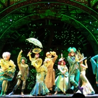 One short day in the 'Wicked' backstage