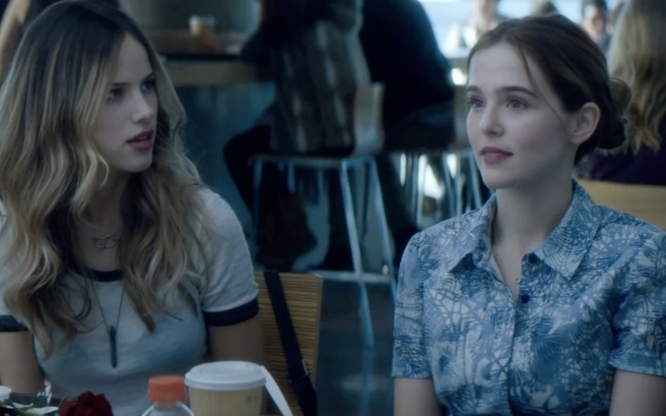 Halston Sage and Zoey Deutch