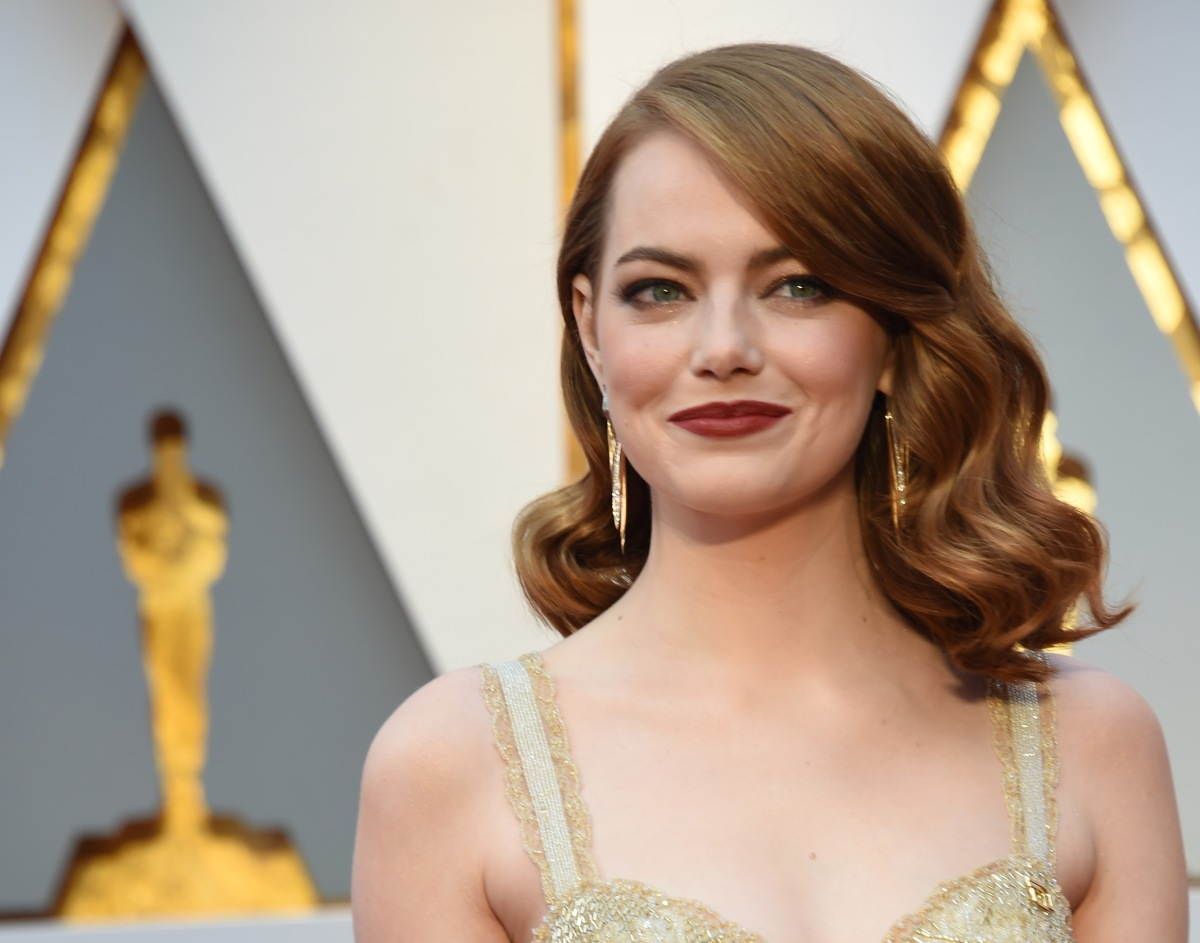 Here's the yet-to-be-released product that gave Emma Stone her Oscar-winning flush