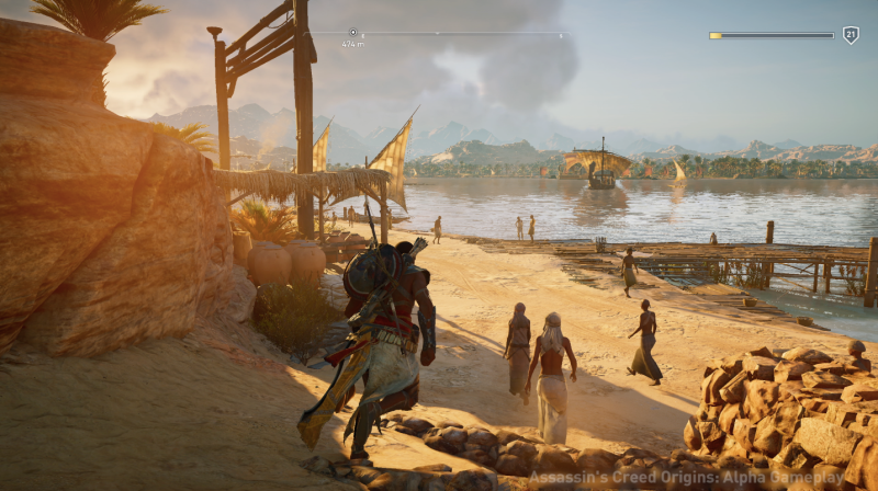 Assassin S Creed Origins Features New Assassin New Scenery Gist