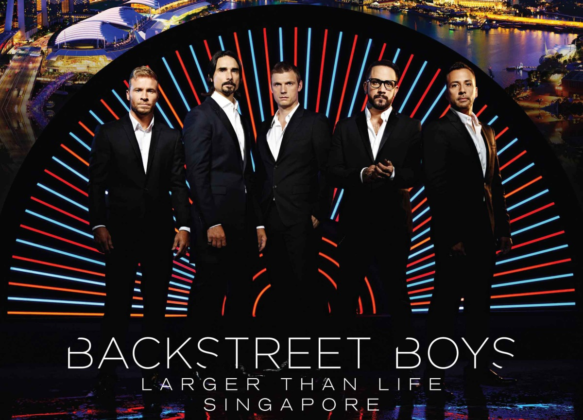 Backstreet Boys 'Larger Than Life' tour coming to Singapore