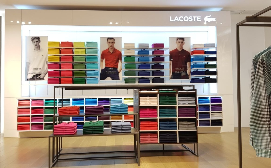 new style fe45b ee211 Lacoste opens a 'Polo Bar' in new concept store – GIST