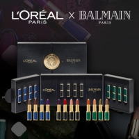 Be to first to order the limited-edition L'Oreal Paris x Balmain lipstick box set