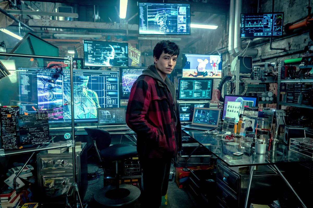 Ezra Miller on his latest role as The Flash