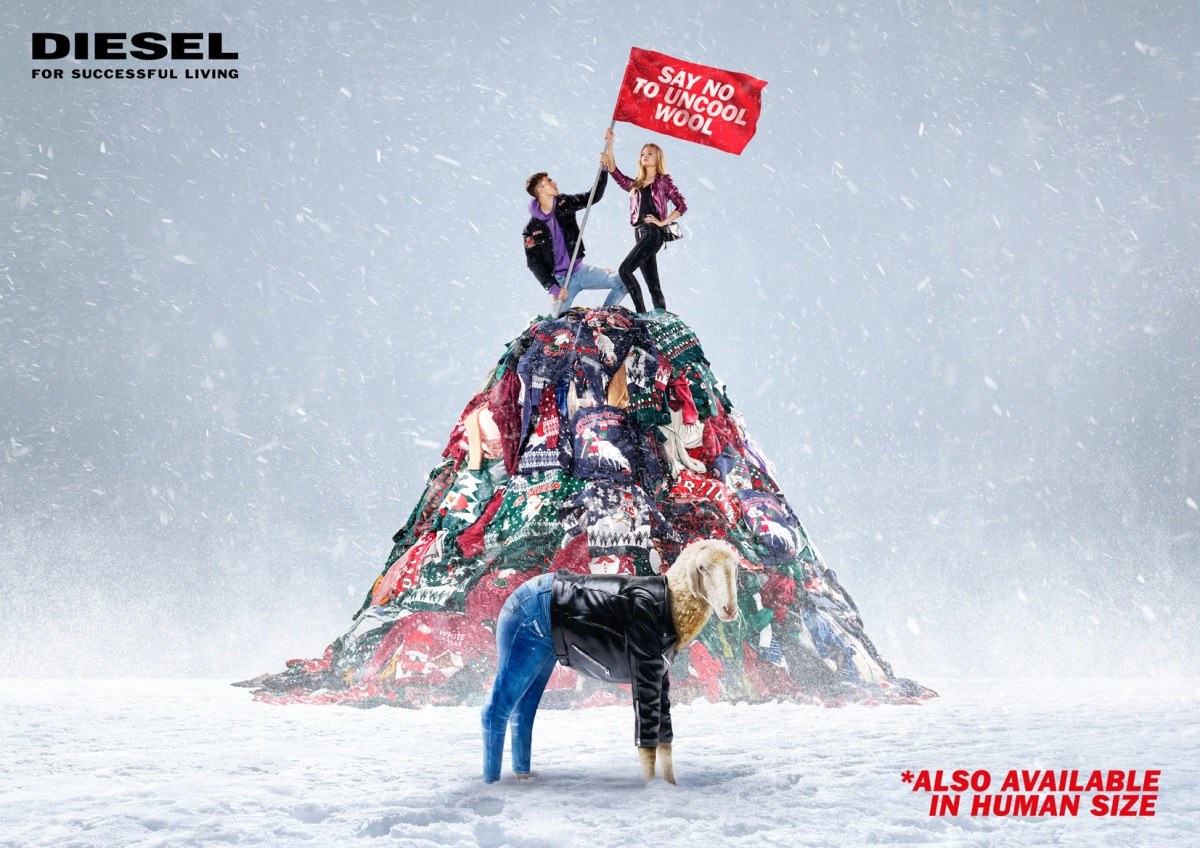 Diesel wants you to ditch the ugly sweater