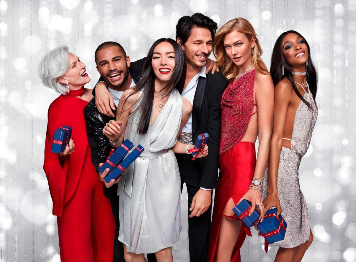 Swarovski wins the holidays with all-star campaign