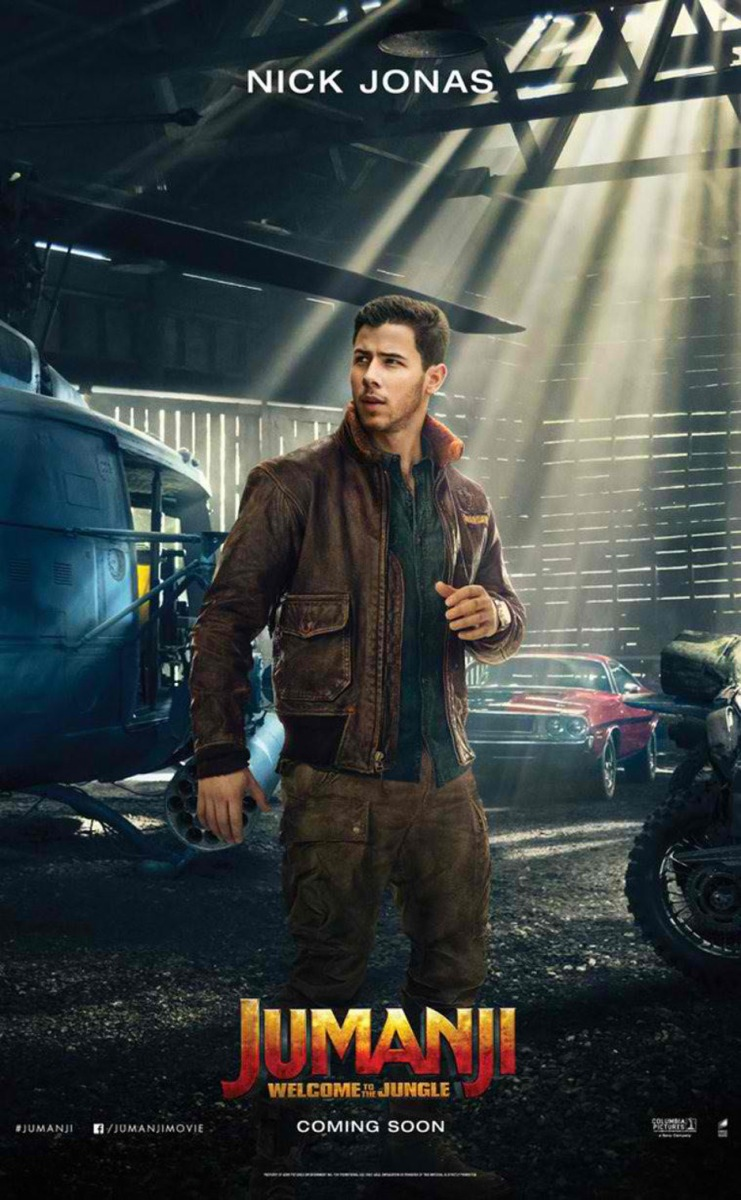Are you ready for Nick Jonas in 'Jumanji'? It's not just a cameo