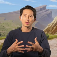 Steven Yeun is an adorable donkey in 'The Star', naturally
