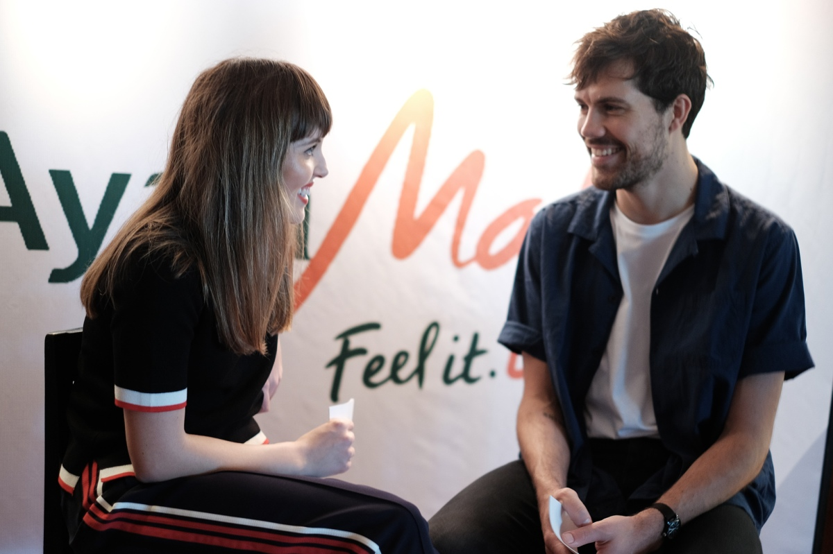 Catch Oh Wonder this weekend at the Ayala Malls