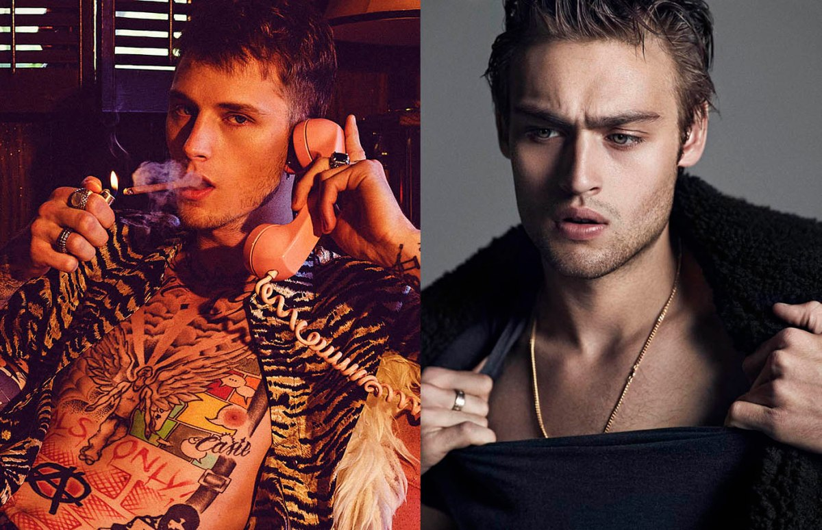 Douglas Booth and Machine Gun Kelly to star in Mötley Crüe biopic