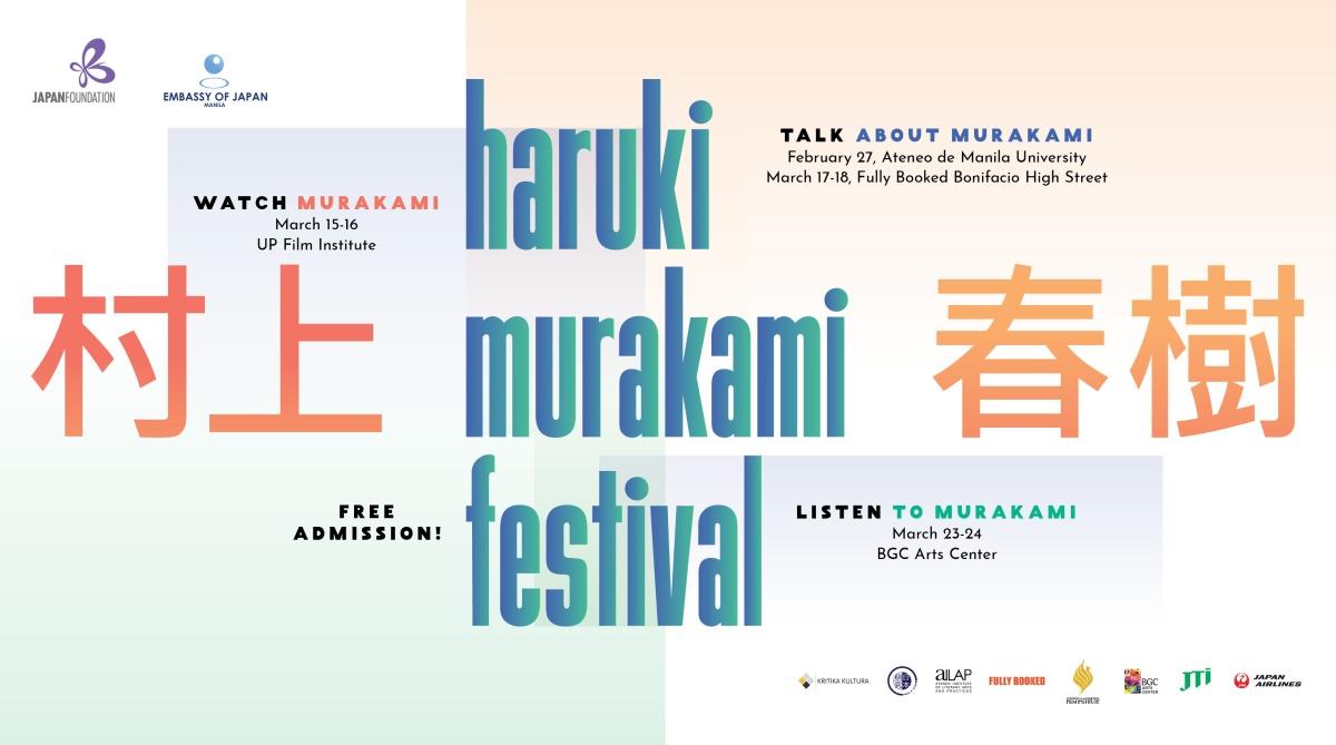 Haruki Murakami Festival in Manila