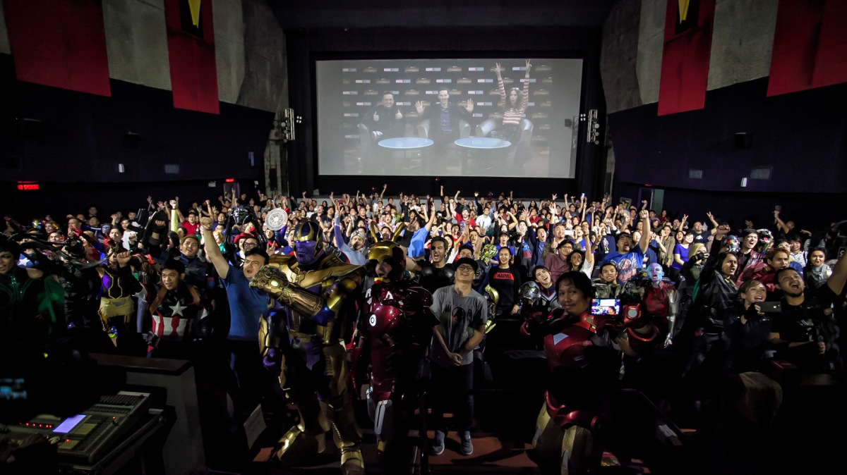 Stars of 'Avengers: Infinity War' surprise Filipino fans