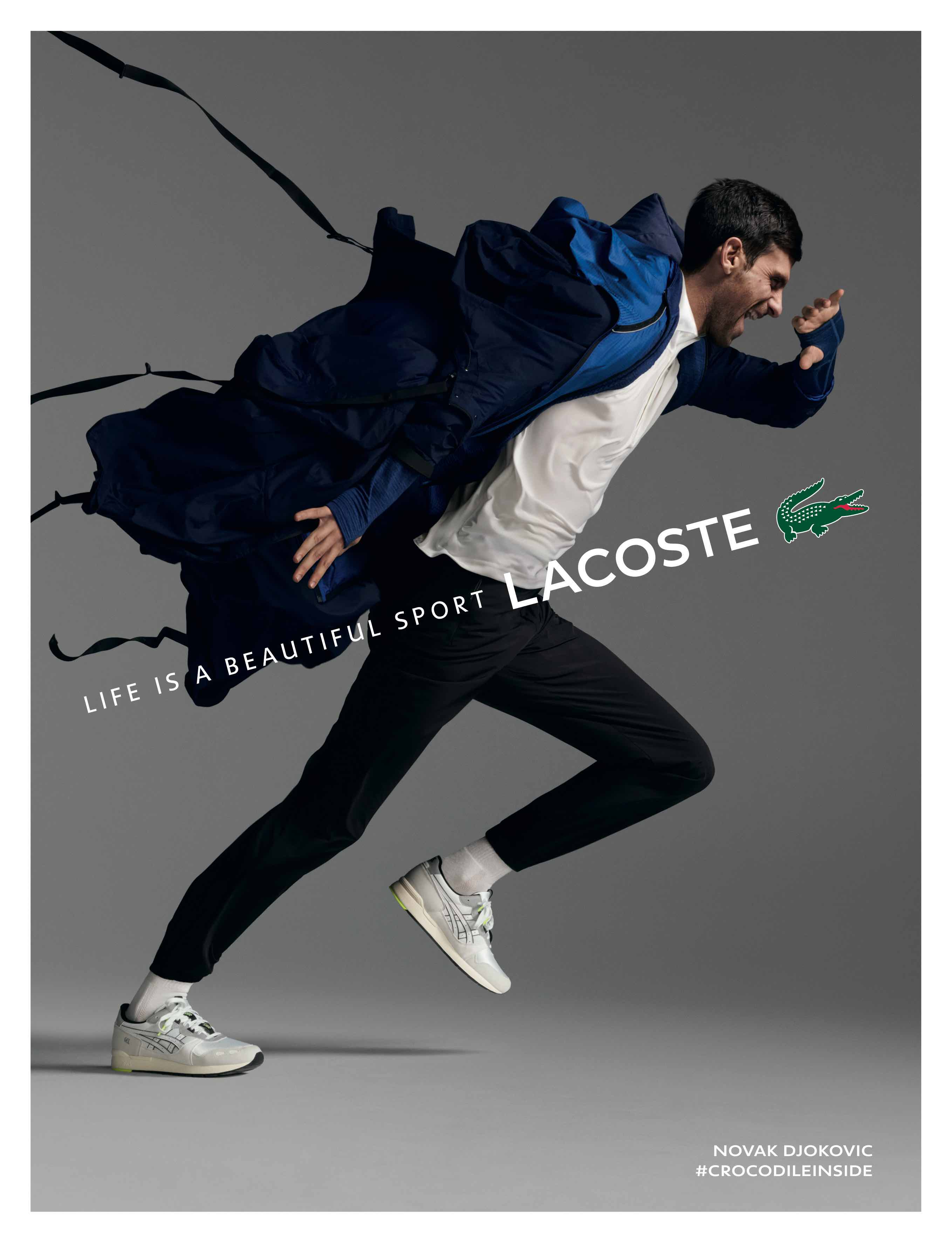 Watch: Lacoste's new brand film, 'Crocodile Inside'
