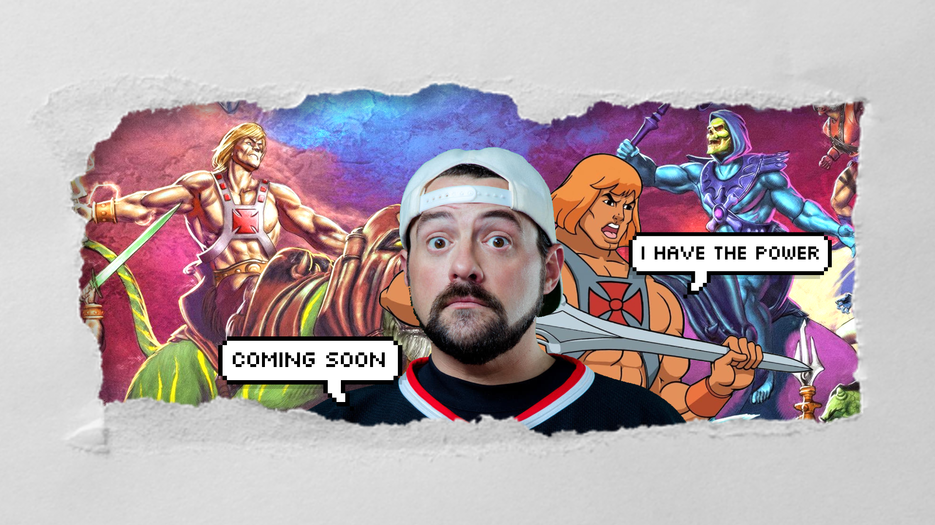 Kevin Smith announces new 'He-Man' series for Netflix