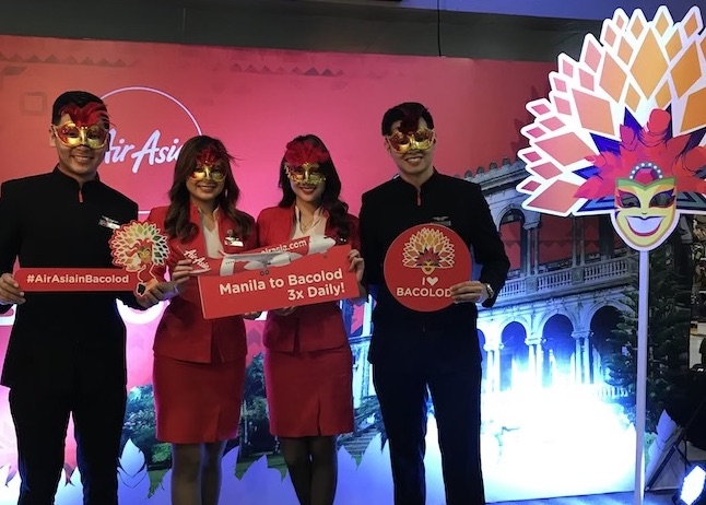 AirAsia launches Manila-Bacolod flights
