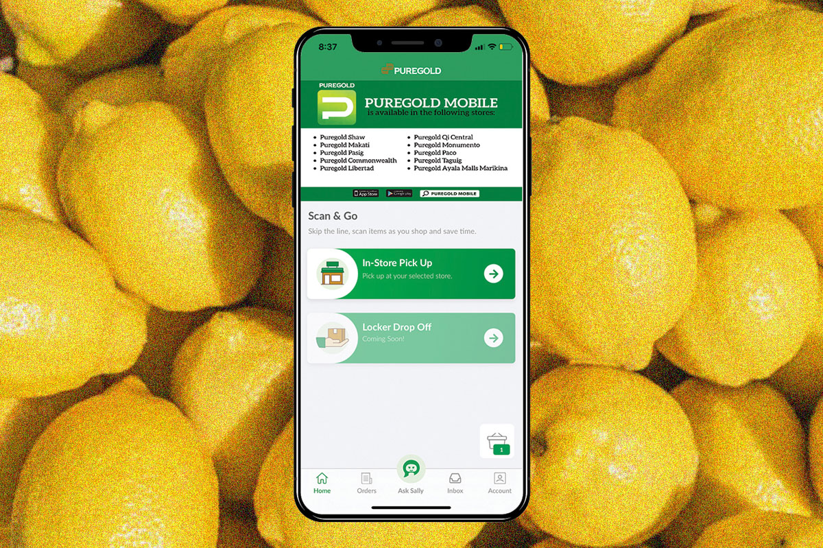 Puregold goes cart-less with new Shopping Ally app