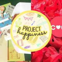 #ProjectHappiness: Buy a self-care package, donate to a cause