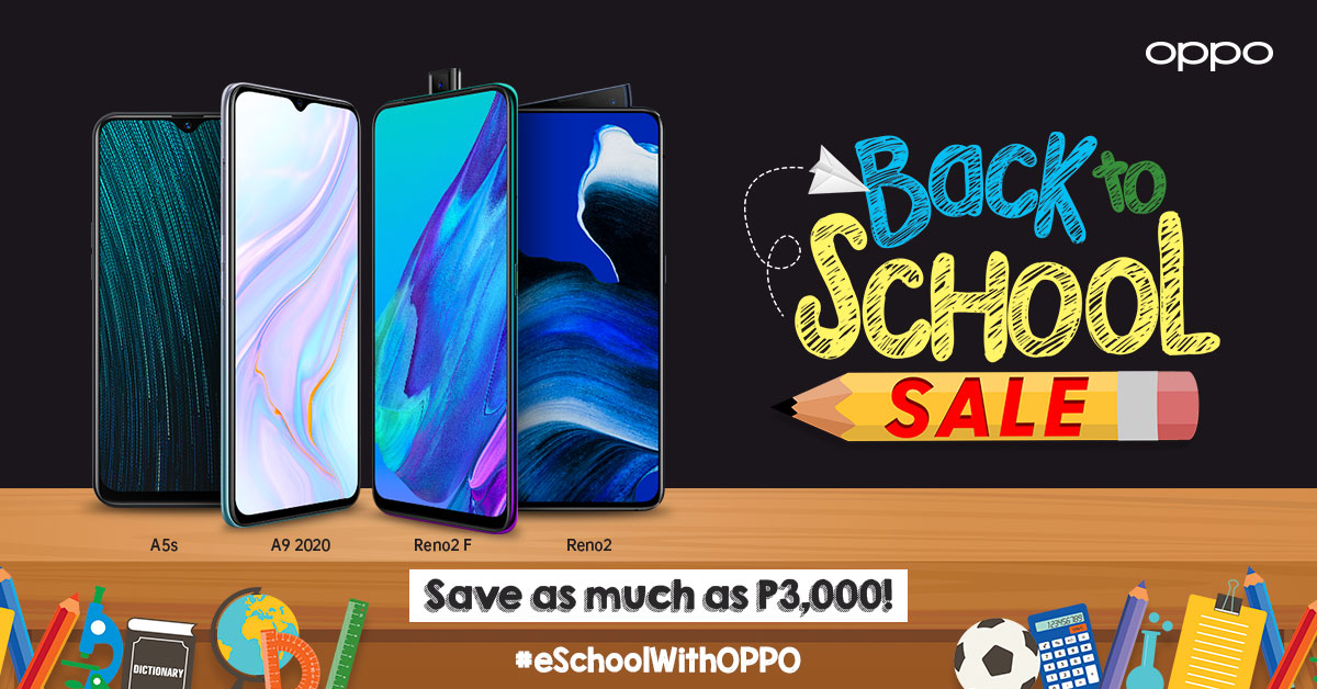 OPPO offers back-to-school promo for e-Learners