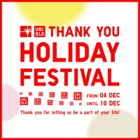 Uniqlo celebrates Kanshasai festival with new offers